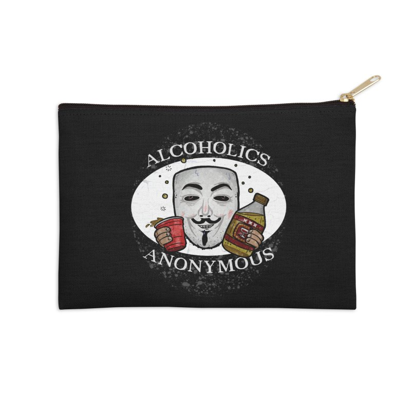 Alcoholics Anonymous Accessories Zip Pouch by vtavast's Artist Shop