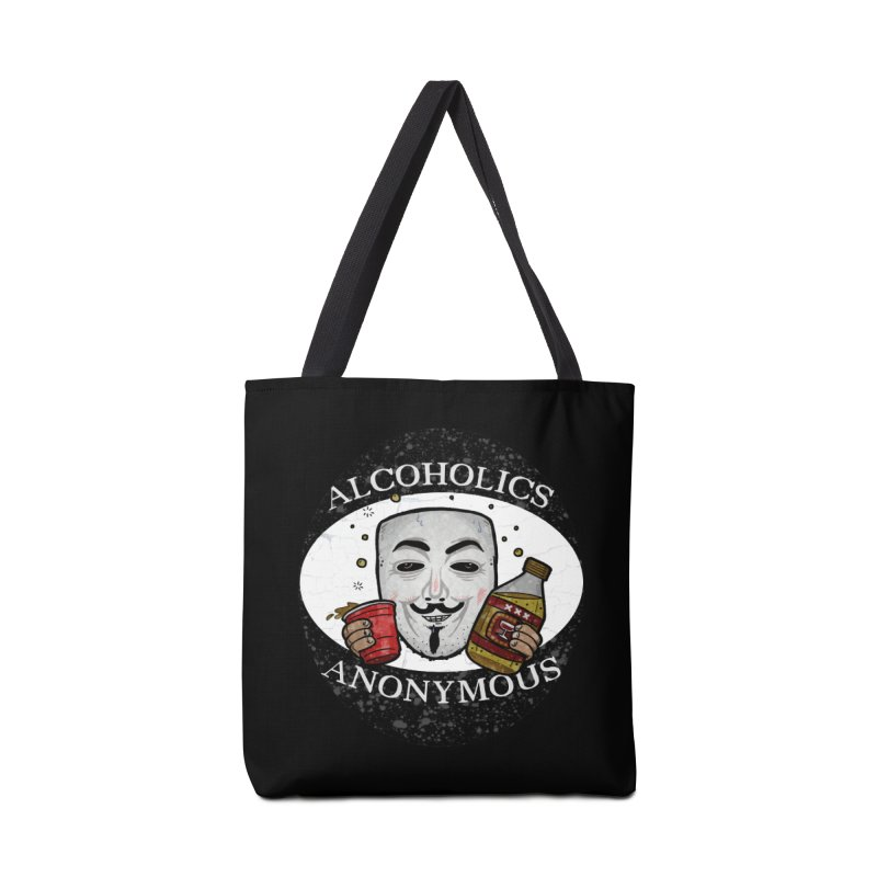 Alcoholics Anonymous Accessories Tote Bag Bag by vtavast's Artist Shop