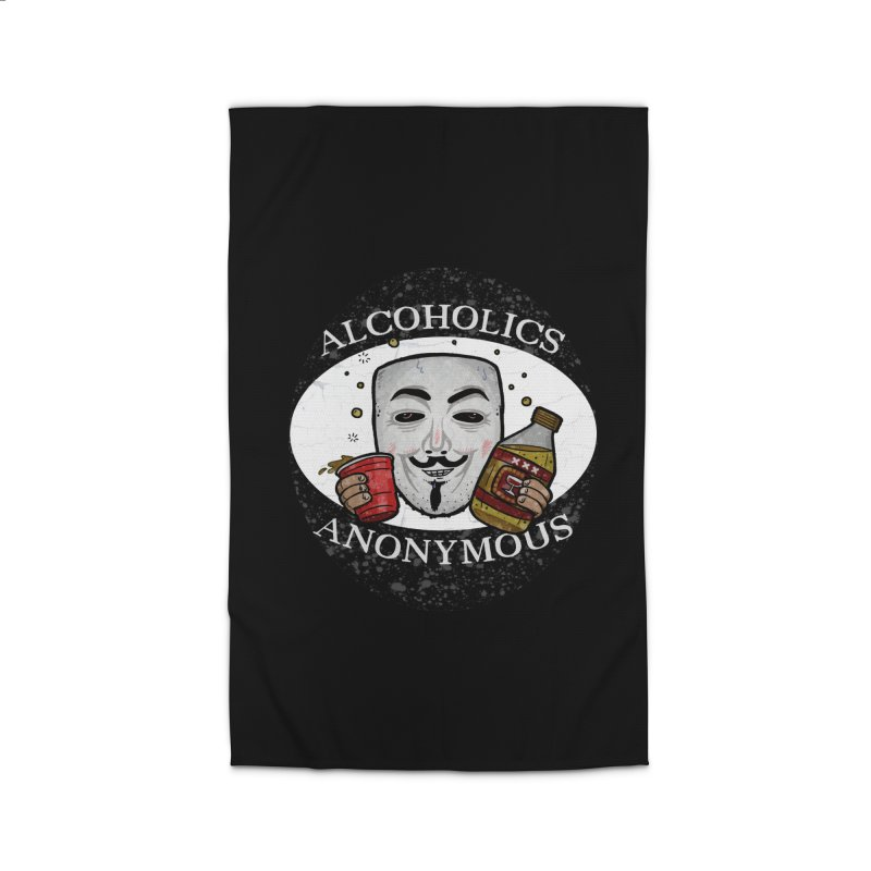 Alcoholics Anonymous Home Rug by vtavast's Artist Shop