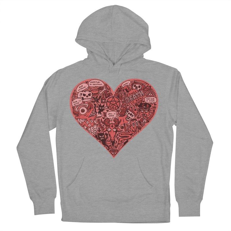 Heart of Darkness Women's Pullover Hoody by vtavast's Artist Shop