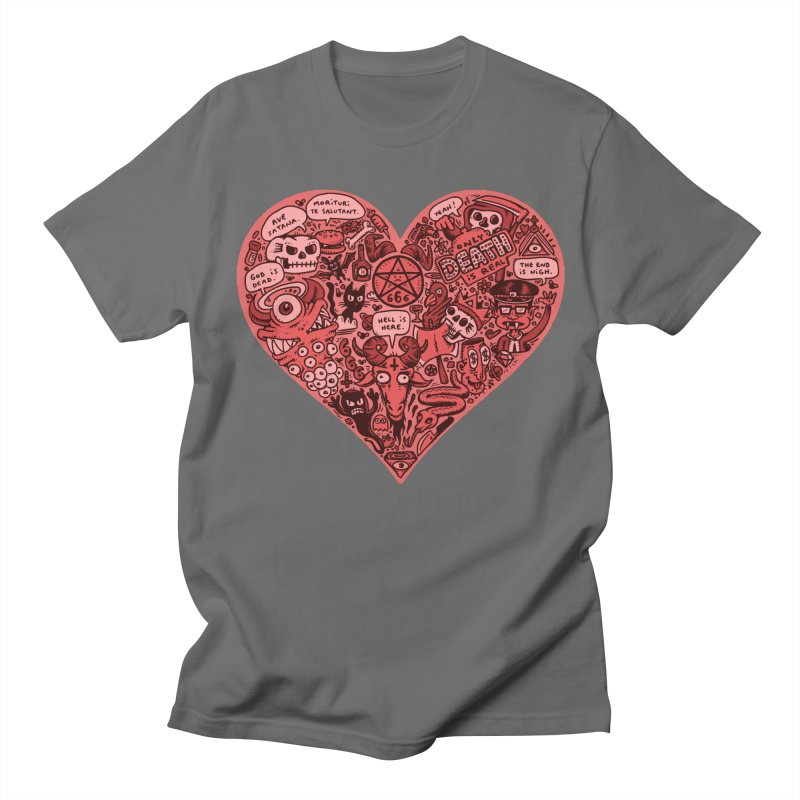Heart of Darkness Men's T-Shirt by vtavast's Artist Shop