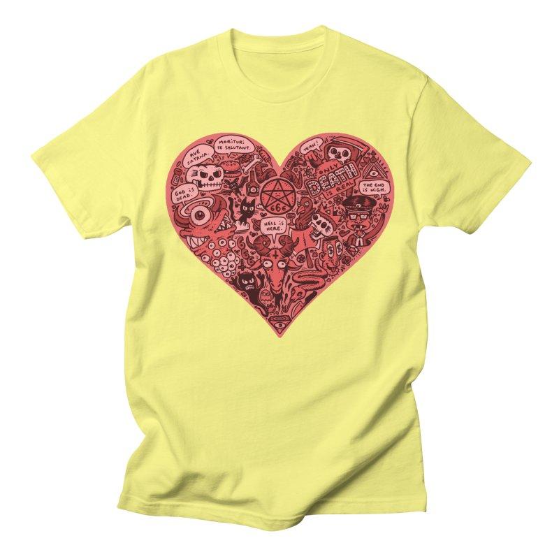 Heart of Darkness Men's T-Shirt by vtavast's Artist Shop