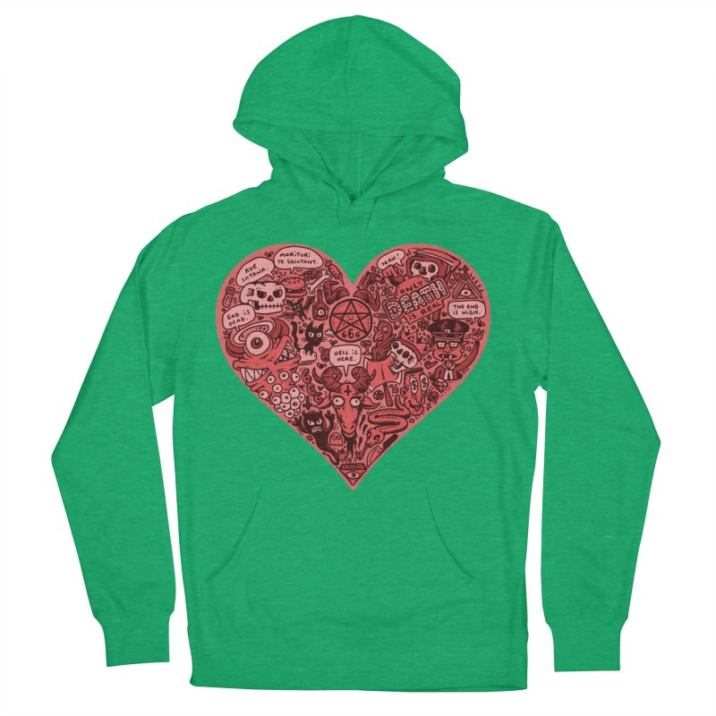 Heart of Darkness Women's Pullover Hoody by vtavast's Artist Shop