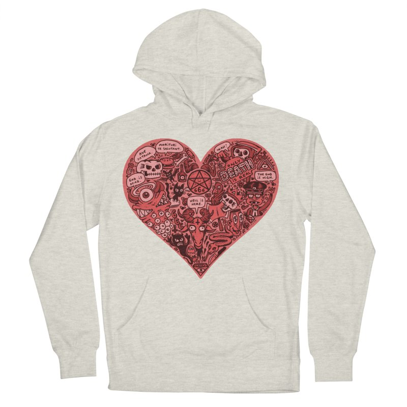 Heart of Darkness Men's Pullover Hoody by vtavast's Artist Shop