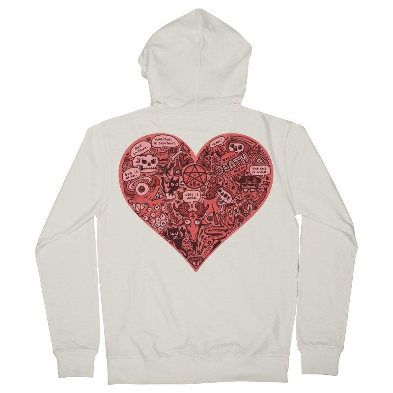 Heart of Darkness Men's Zip-Up Hoody by vtavast's Artist Shop