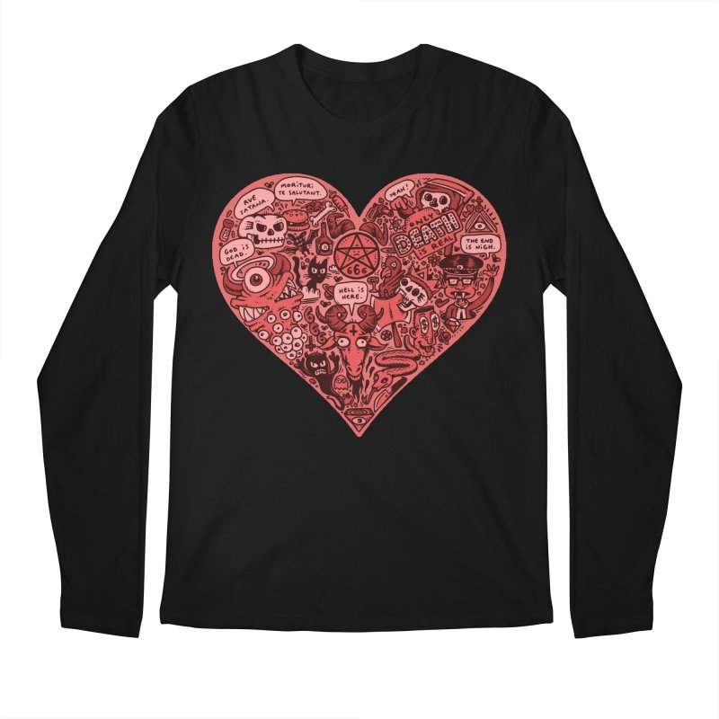 Heart of Darkness Men's Longsleeve T-Shirt by vtavast's Artist Shop