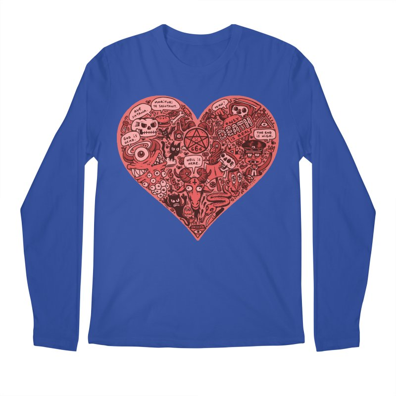 Heart of Darkness Men's Regular Longsleeve T-Shirt by vtavast's Artist Shop