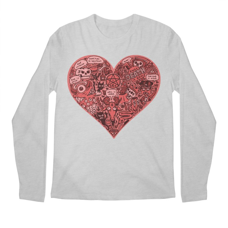 Heart of Darkness Men's Regular Longsleeve T-Shirt by vtavast's Artist Shop