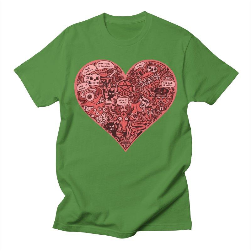Heart of Darkness Men's Regular T-Shirt by vtavast's Artist Shop