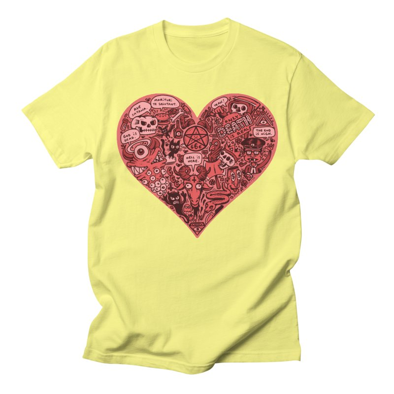 Heart of Darkness Men's Regular T-Shirt by vtavast's Artist Shop