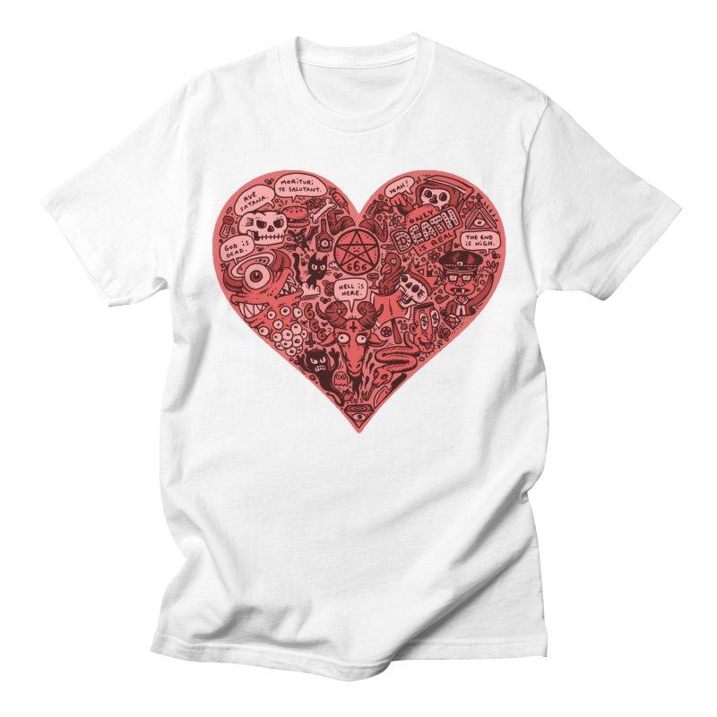 Heart of Darkness Women's Regular Unisex T-Shirt by vtavast's Artist Shop