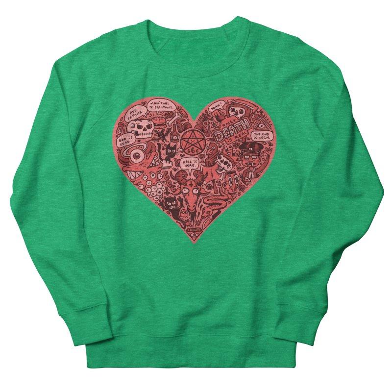 Heart of Darkness Women's Sweatshirt by vtavast's Artist Shop