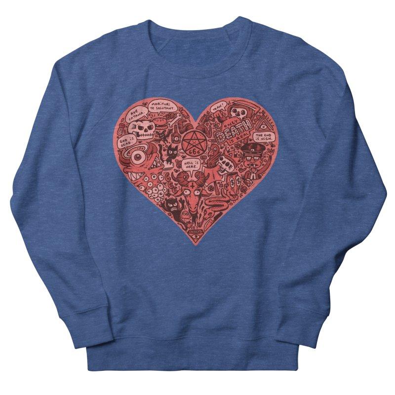 Heart of Darkness Women's French Terry Sweatshirt by vtavast's Artist Shop