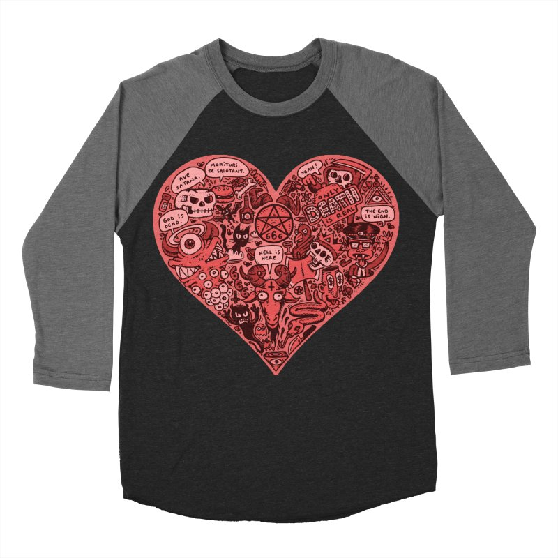 Heart of Darkness Women's Baseball Triblend Longsleeve T-Shirt by vtavast's Artist Shop