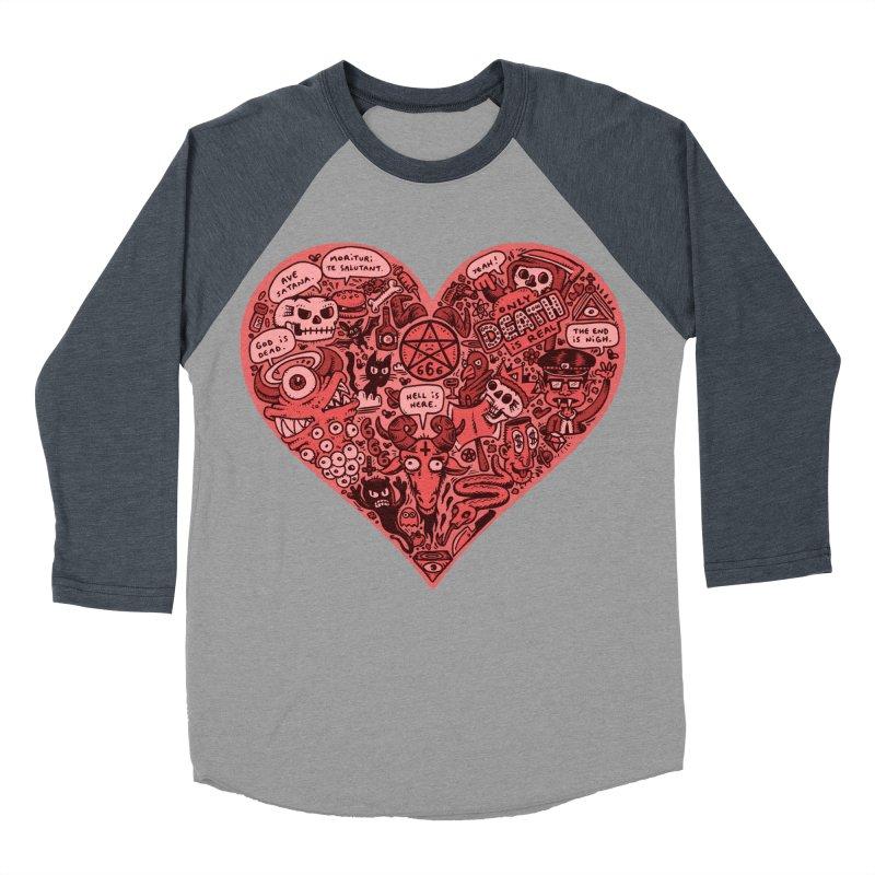 Heart of Darkness Women's Baseball Triblend Longsleeve T-Shirt by vtavast's Artist Shop