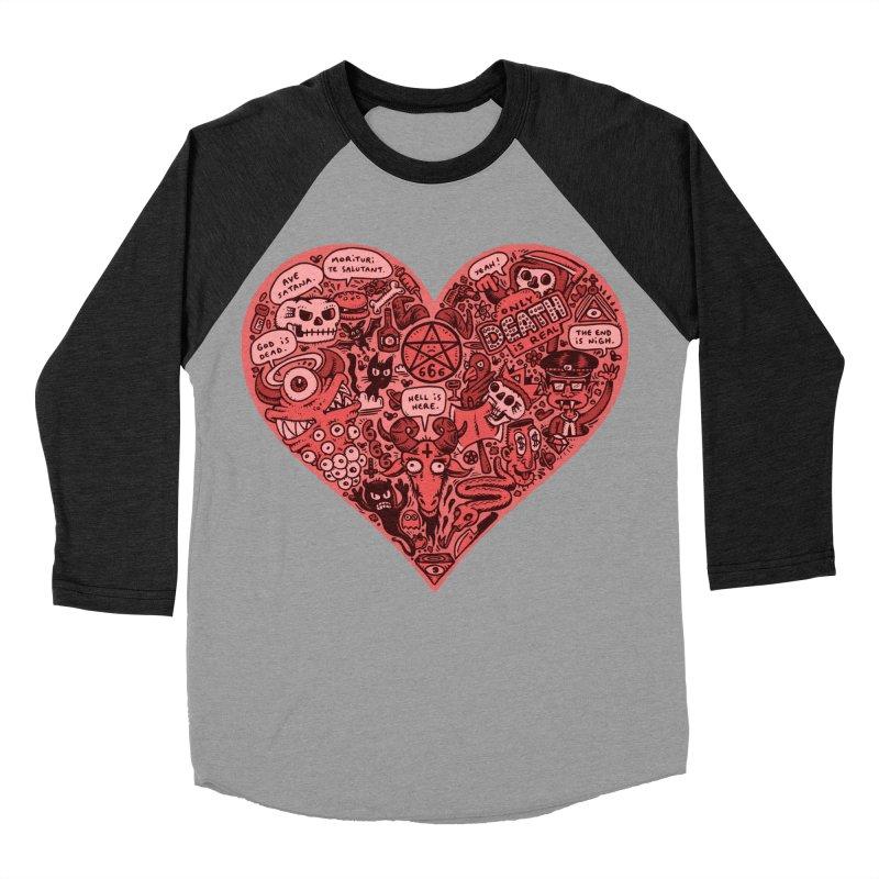 Heart of Darkness Men's Baseball Triblend Longsleeve T-Shirt by vtavast's Artist Shop