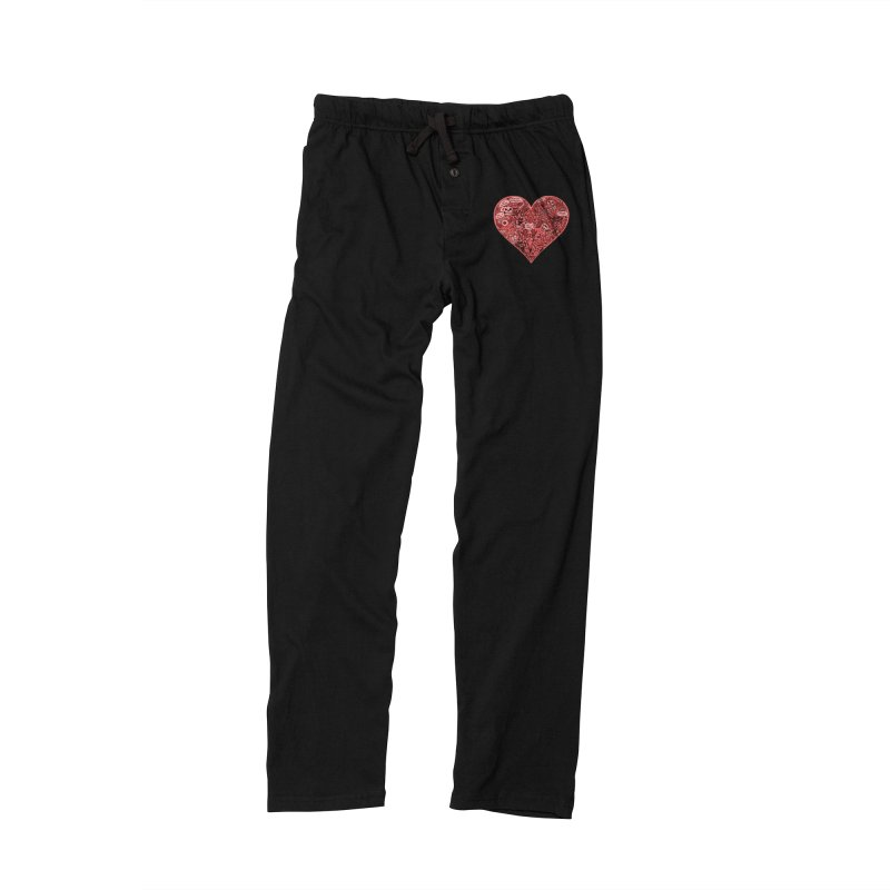 Heart of Darkness Men's Lounge Pants by vtavast's Artist Shop