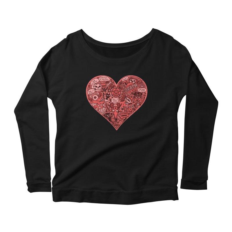 Heart of Darkness Women's Longsleeve T-Shirt by vtavast's Artist Shop