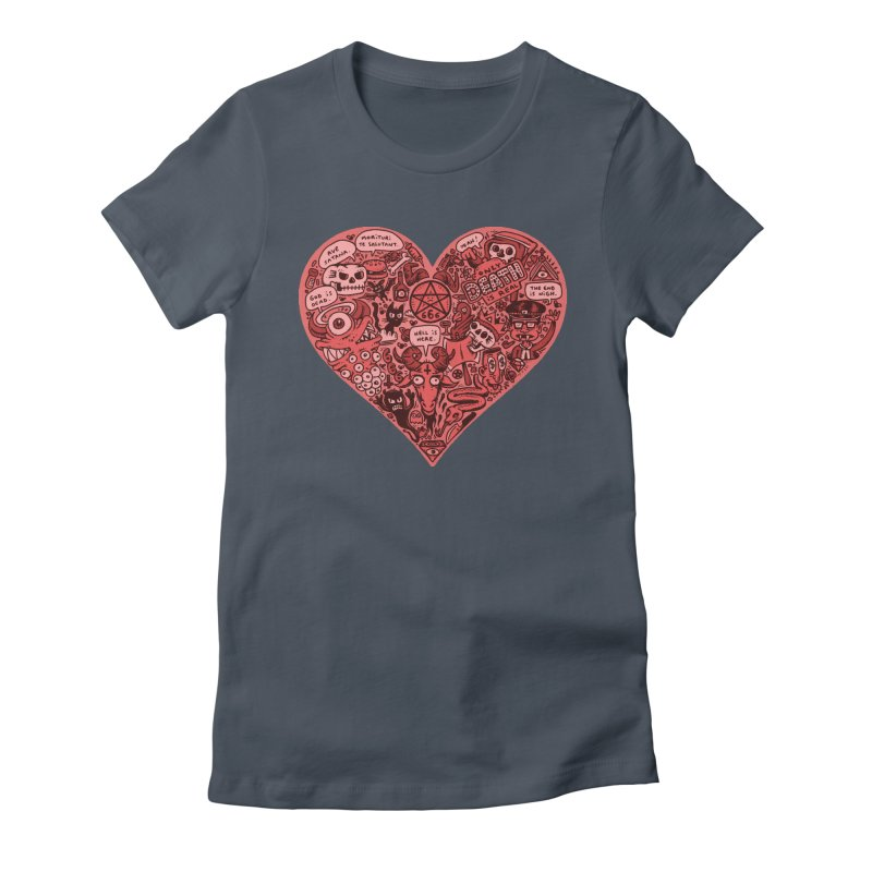 Heart of Darkness Women's T-Shirt by vtavast's Artist Shop