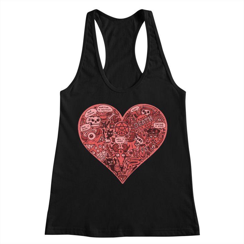 Heart of Darkness Women's Tank by vtavast's Artist Shop