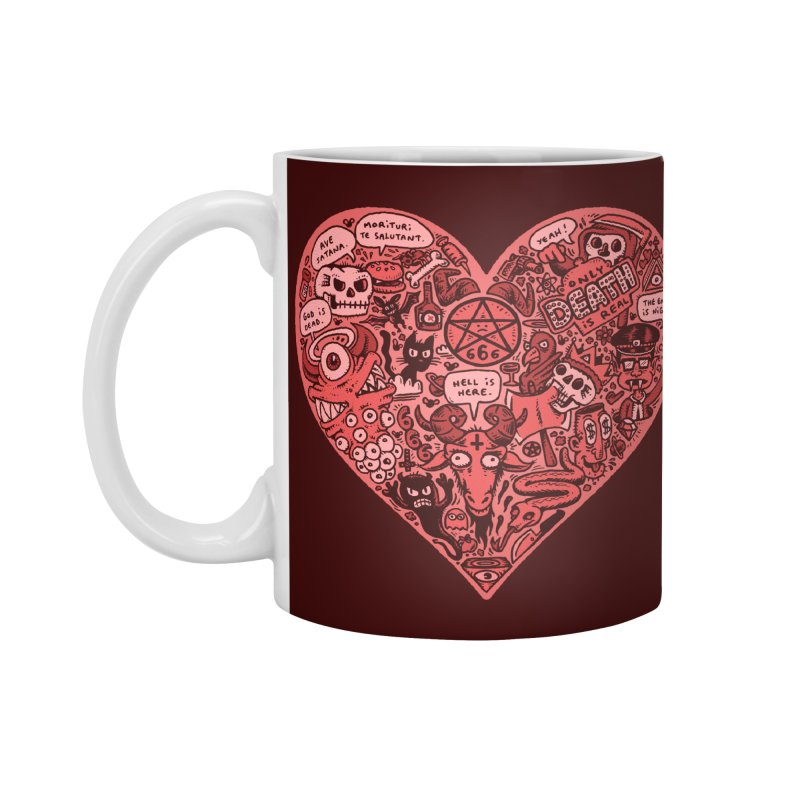 Heart of Darkness Accessories Standard Mug by vtavast's Artist Shop