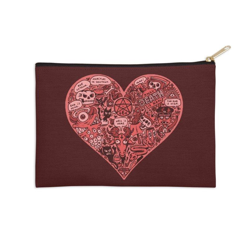 Heart of Darkness Accessories Zip Pouch by vtavast's Artist Shop