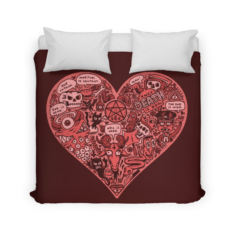 Heart of Darkness Home Duvet by vtavast's Artist Shop