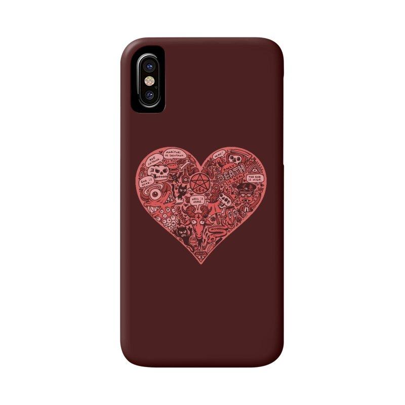 Heart of Darkness Accessories Phone Case by vtavast's Artist Shop