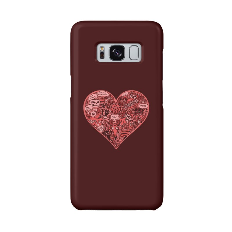 Heart of Darkness Accessories Phone Case by vtavast's Artist Shop