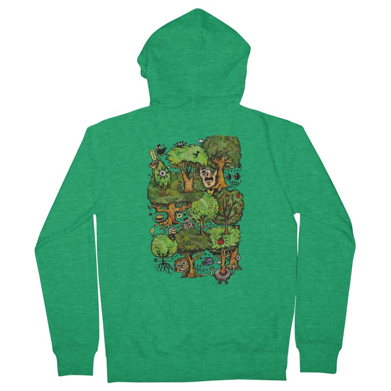 Into the Green Women's Zip-Up Hoody by vtavast's Artist Shop