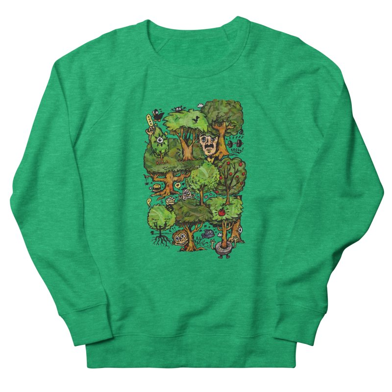 Into the Green Women's Sweatshirt by vtavast's Artist Shop