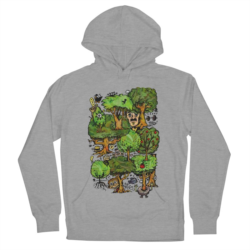 Into the Green Women's French Terry Pullover Hoody by vtavast's Artist Shop
