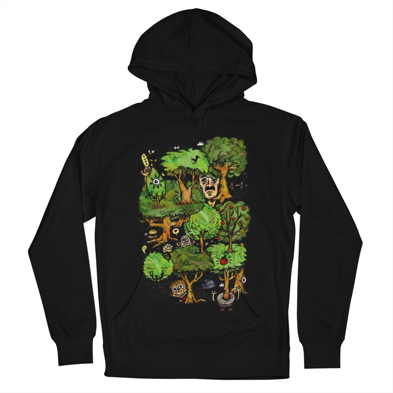 Into the Green Men's French Terry Pullover Hoody by vtavast's Artist Shop