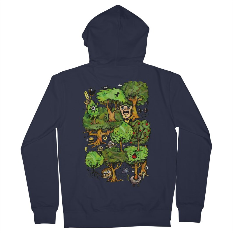 Into the Green Men's French Terry Zip-Up Hoody by vtavast's Artist Shop
