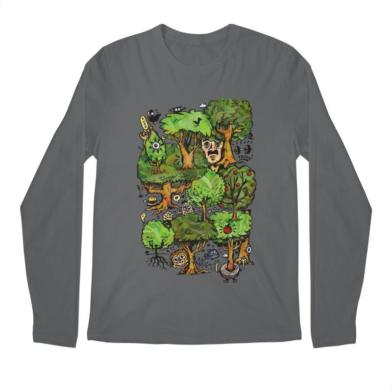 Into the Green Men's Longsleeve T-Shirt by vtavast's Artist Shop