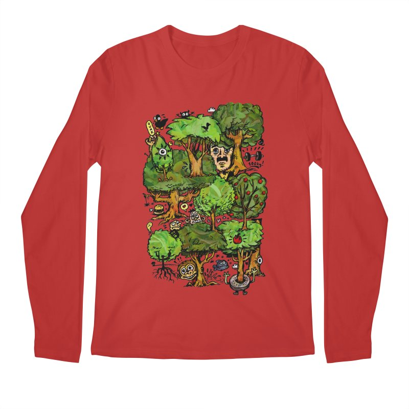 Into the Green Men's Regular Longsleeve T-Shirt by vtavast's Artist Shop