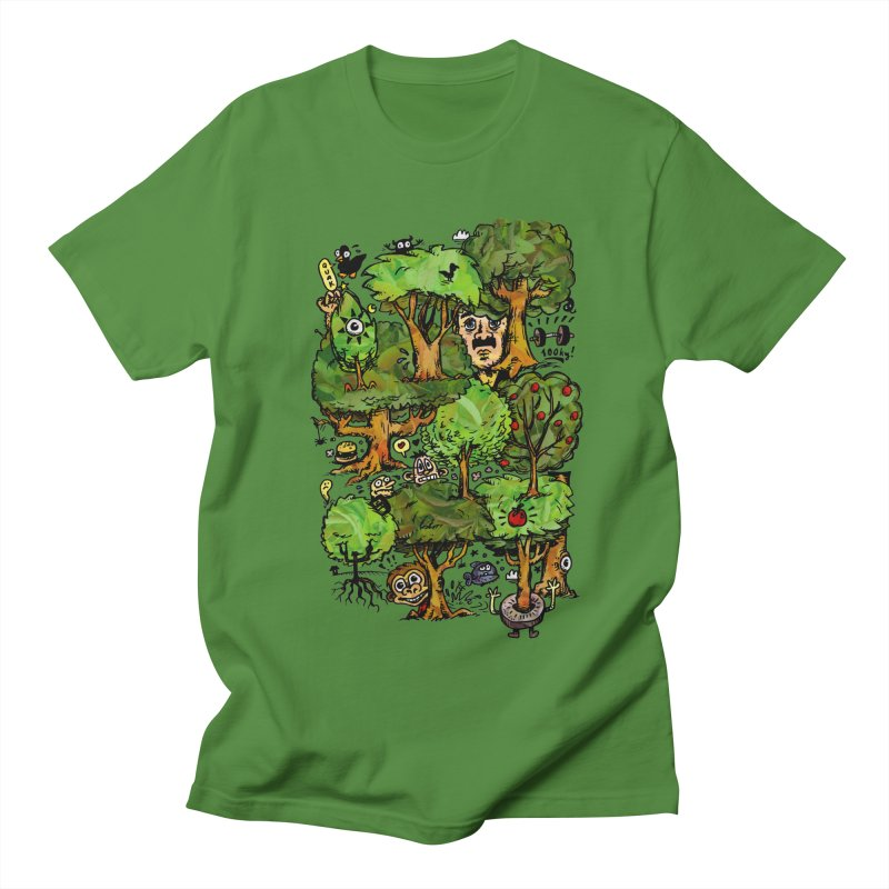 Into the Green Women's Unisex T-Shirt by vtavast's Artist Shop