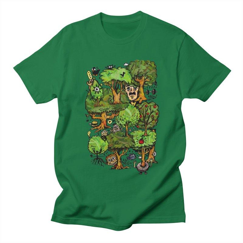 Into the Green Women's Regular Unisex T-Shirt by vtavast's Artist Shop