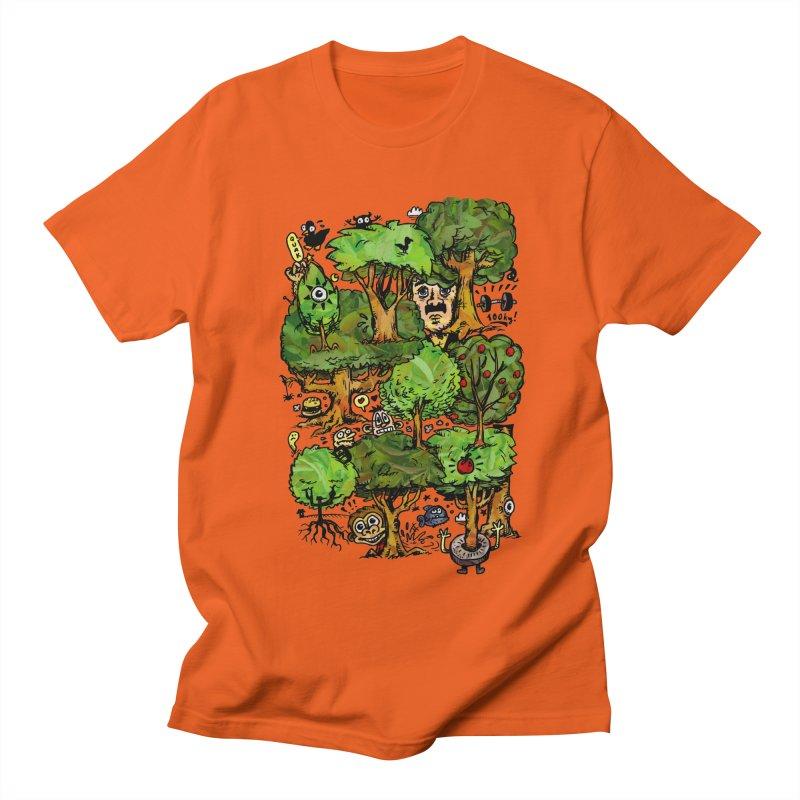 Into the Green Men's Regular T-Shirt by vtavast's Artist Shop