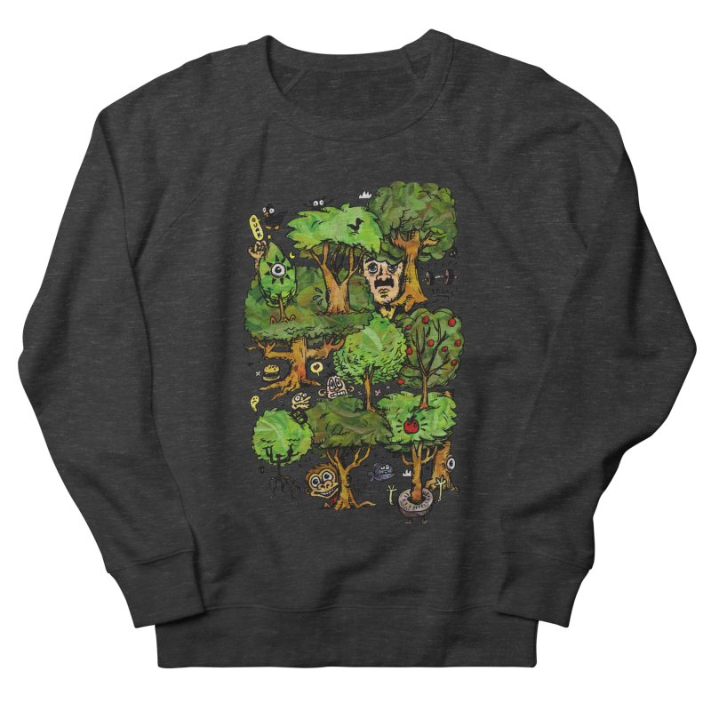 Into the Green Women's French Terry Sweatshirt by vtavast's Artist Shop