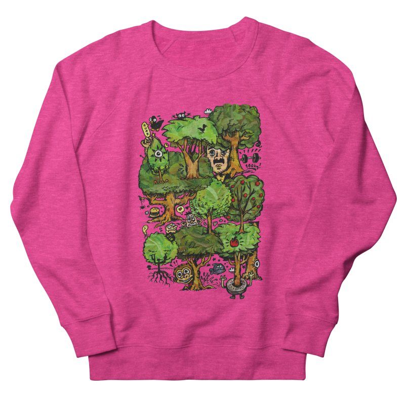 Into the Green Men's French Terry Sweatshirt by vtavast's Artist Shop