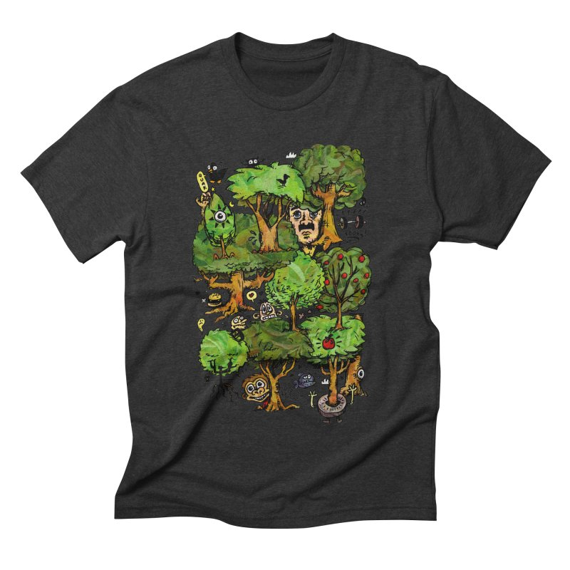 Into the Green Men's Triblend T-Shirt by vtavast's Artist Shop