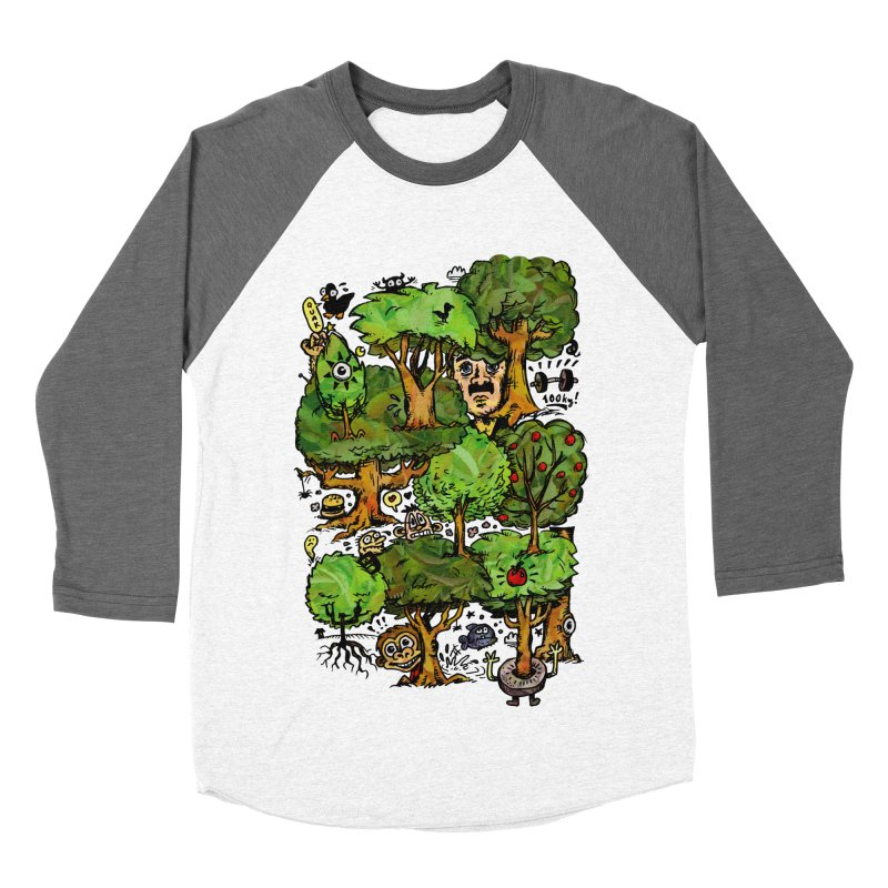 Into the Green Women's Longsleeve T-Shirt by vtavast's Artist Shop