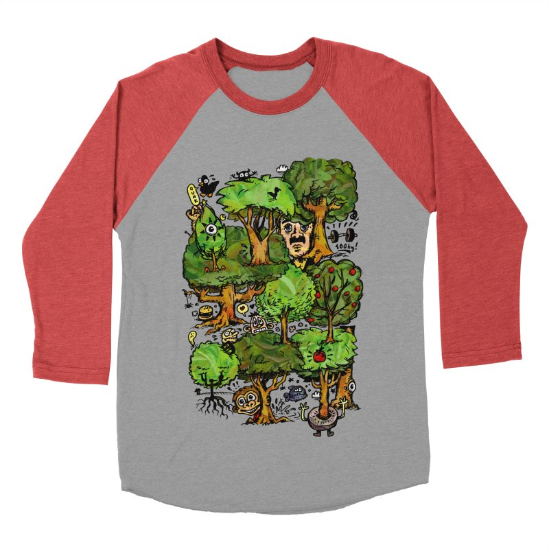 Into the Green Women's Baseball Triblend Longsleeve T-Shirt by vtavast's Artist Shop