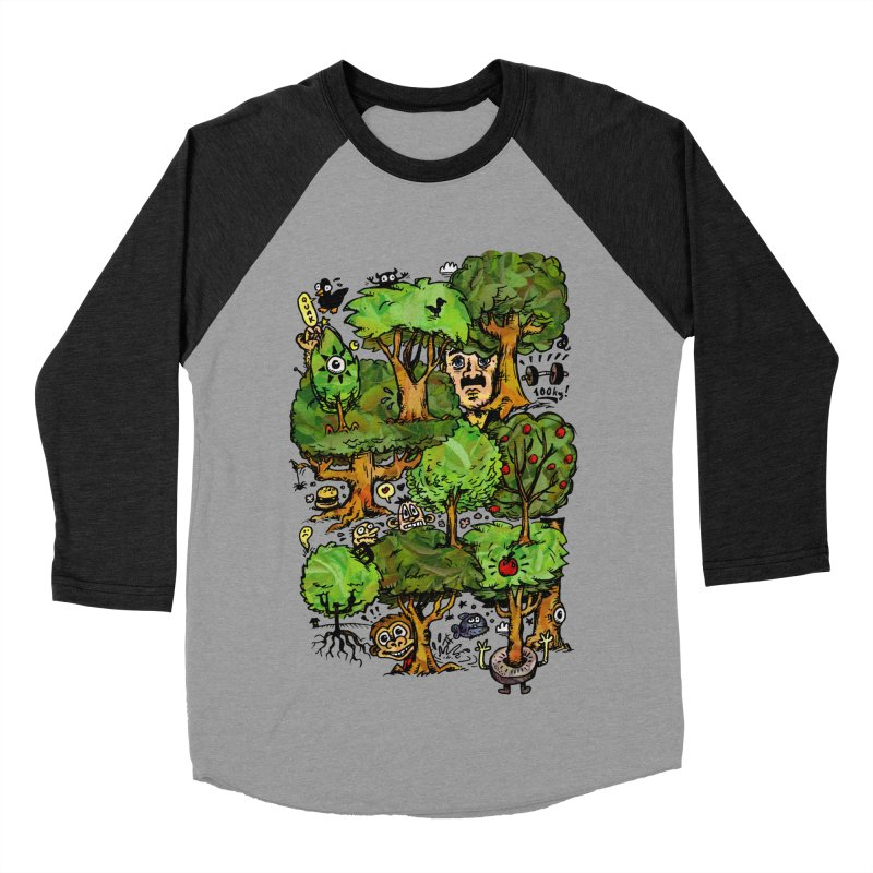 Into the Green Women's Baseball Triblend Longsleeve T-Shirt by vtavast's Artist Shop
