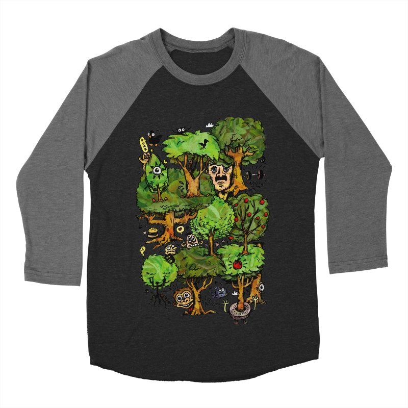 Into the Green Men's Baseball Triblend T-Shirt by vtavast's Artist Shop