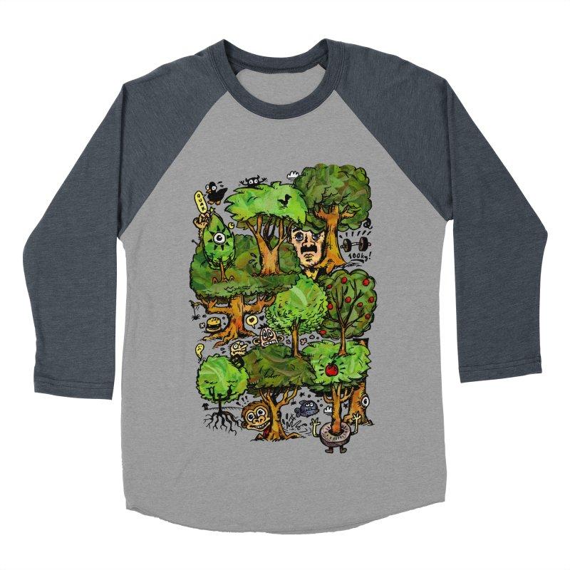 Into the Green Men's Baseball Triblend Longsleeve T-Shirt by vtavast's Artist Shop