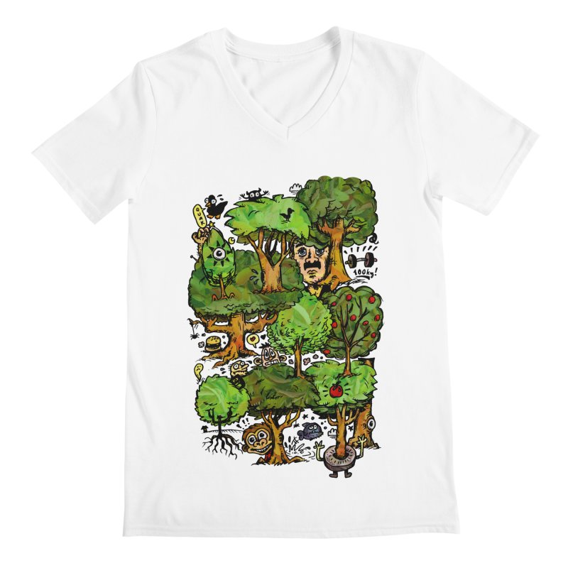 Into the Green Men's V-Neck by vtavast's Artist Shop