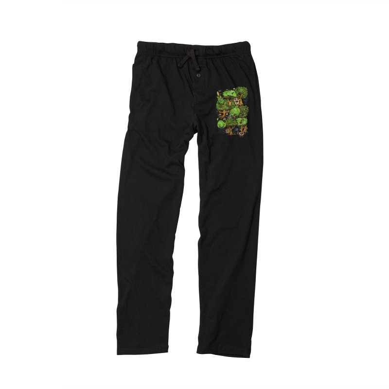 Into the Green Men's Lounge Pants by vtavast's Artist Shop