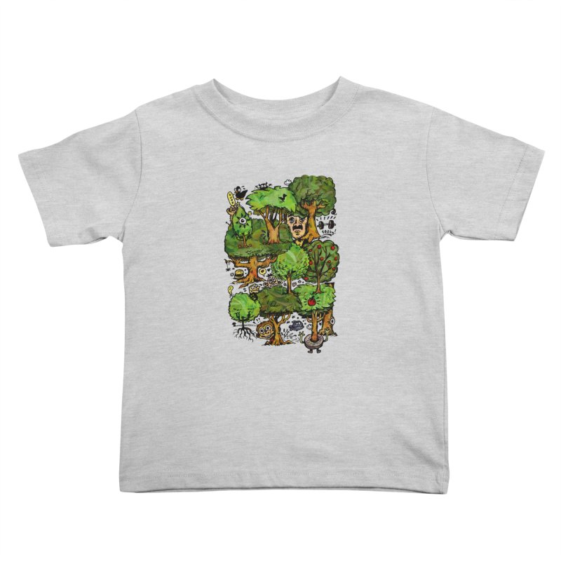 Into the Green Kids Toddler T-Shirt by vtavast's Artist Shop